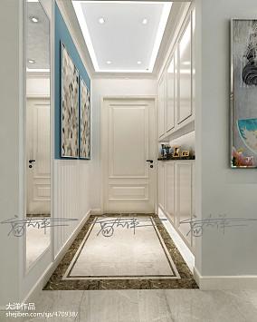 优雅新古典时尚三居室装修效果图