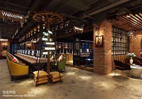 温馨简约现代餐厅设计