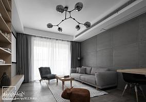 精选面积82平北欧二居客厅装饰图片大全