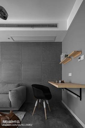精选面积88平北欧二居客厅装修图