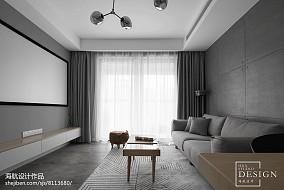 精美71平米二居客厅北欧装修实景图