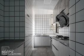 简洁53平北欧二居厨房美图