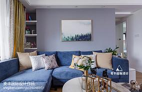 北欧复古客厅设计