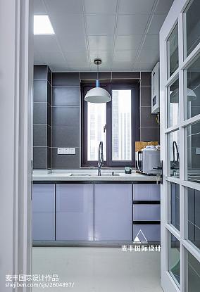 北欧复古厨房设计餐厅北欧极简设计图片赏析