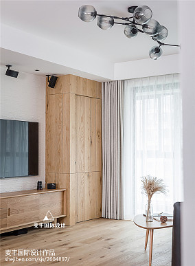 日系三居客厅储物柜设计客厅日式客厅设计图片赏析