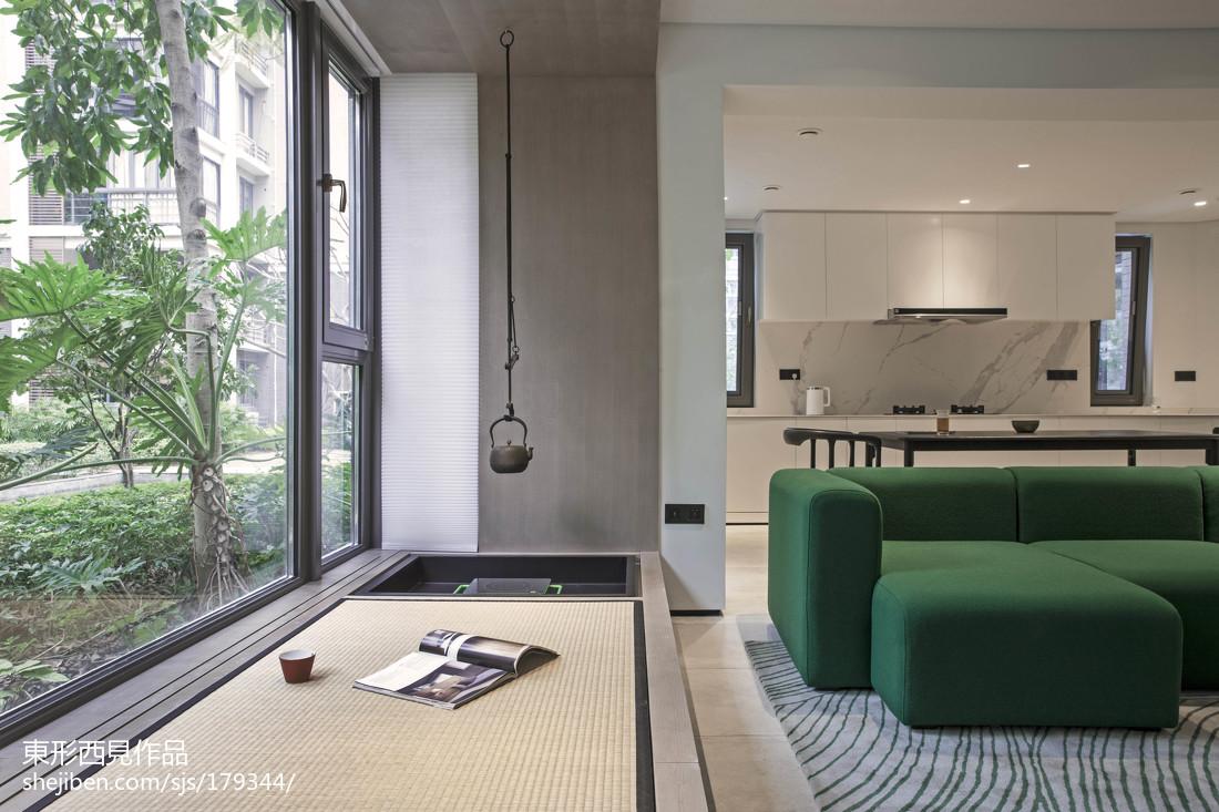 精美101平客厅三居现代效果图片客厅