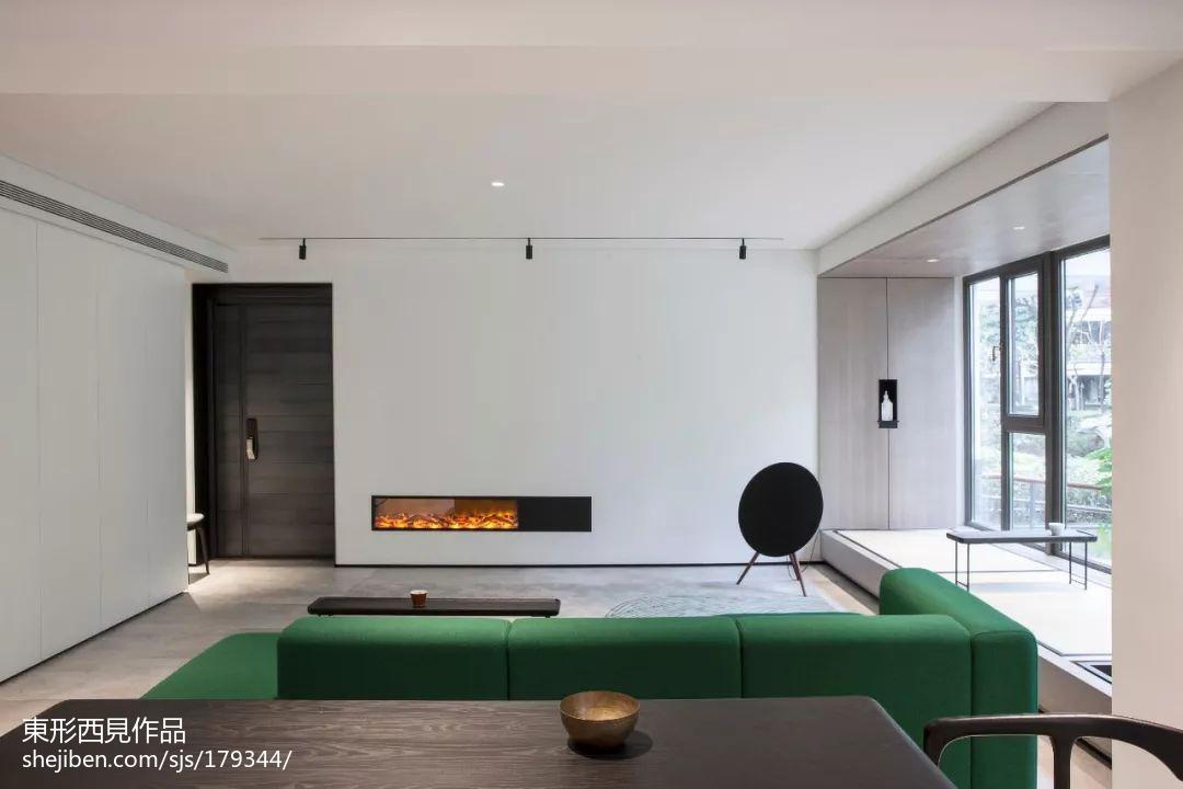 精选95平方三居客厅现代装饰图片大全现代简约设计图片赏析