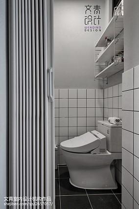 精选二居卫生间北欧装饰图片