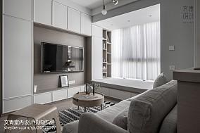 精选85平方二居客厅北欧实景图