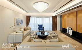 精美面积135平现代四居客厅装修图片欣赏