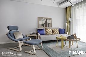 热门北欧小户型客厅设计效果图