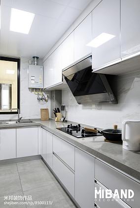 201929平北欧小户型厨房装修装饰图