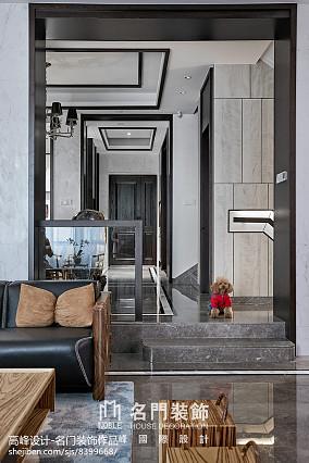 平米中式别墅客厅装修实景图片大全家装装修案例效果图