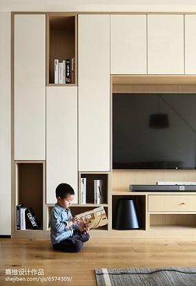 热门日式三居客厅欣赏图