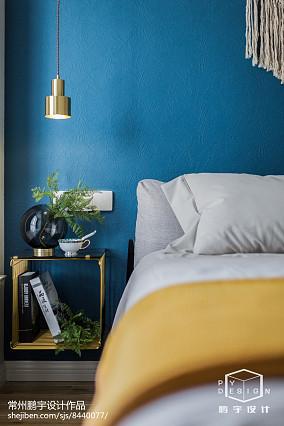 2018精选面积88平欧式二居卧室欣赏图片二居欧式豪华家装装修案例效果图