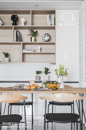 2018精选面积78平欧式二居餐厅欣赏图片大全二居欧式豪华家装装修案例效果图