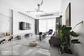 2018精选81平米二居客厅欧式装修图片欣赏