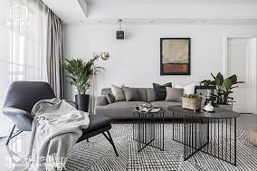 平米二居客厅欧式装饰图片二居欧式豪华家装装修案例效果图