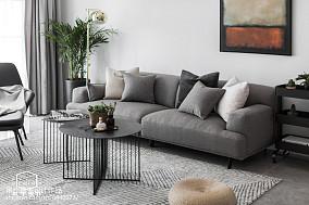 2018精选85平方二居客厅欧式装修图二居欧式豪华家装装修案例效果图