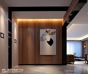 摩登新中式玄关中式现代设计图片赏析