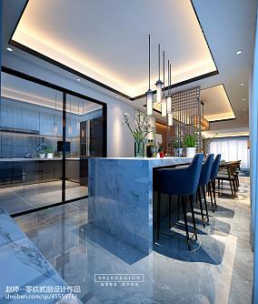 摩登新中式厨房中式现代设计图片赏析