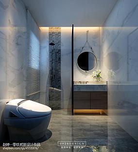 摩登新中式卫生间中式现代设计图片赏析