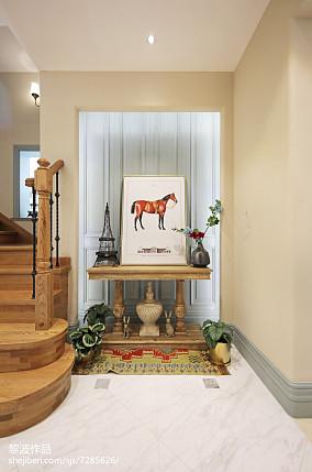 悠雅366平美式别墅玄关设计效果图玄关美式经典玄关设计图片赏析
