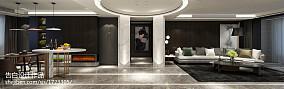 热门90平米三居客厅现代装修实景图片大全