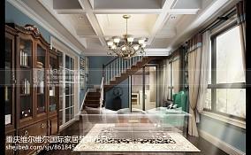 惬意美式别墅样板间装修