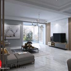 质朴125平现代四居装修设计图