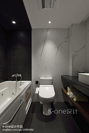 精选面积88平现代二居卫生间装修欣赏图片