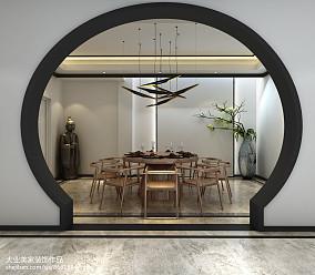 精选116平米中式别墅休闲区装修欣赏图片大全