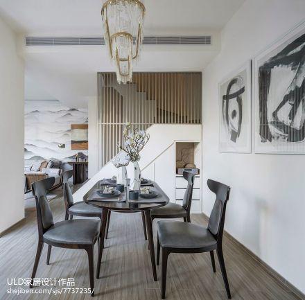 大气368平中式别墅餐厅案例图厨房