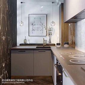 三居厨房装修设计效果图片欣赏三居欧式豪华家装装修案例效果图
