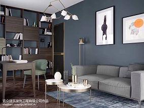 2018三居客厅装修效果图片三居欧式豪华家装装修案例效果图