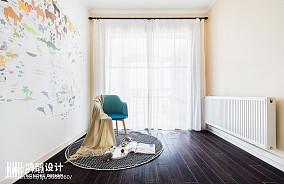 精美128平简约三居儿童房装修图片