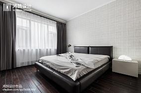 精致71平简约三居卧室效果图片大全