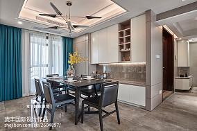 现代简约三居餐厅设计实景厨房现代简约设计图片赏析