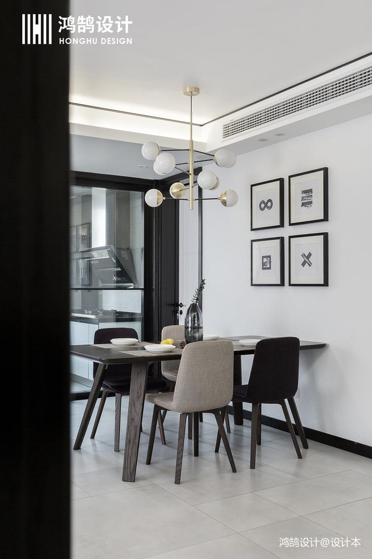精选大小102平现代三居餐厅装修效果图片欣赏厨房