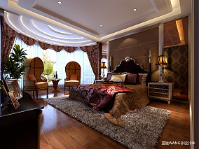 热门新古典别墅卧室欣赏图片