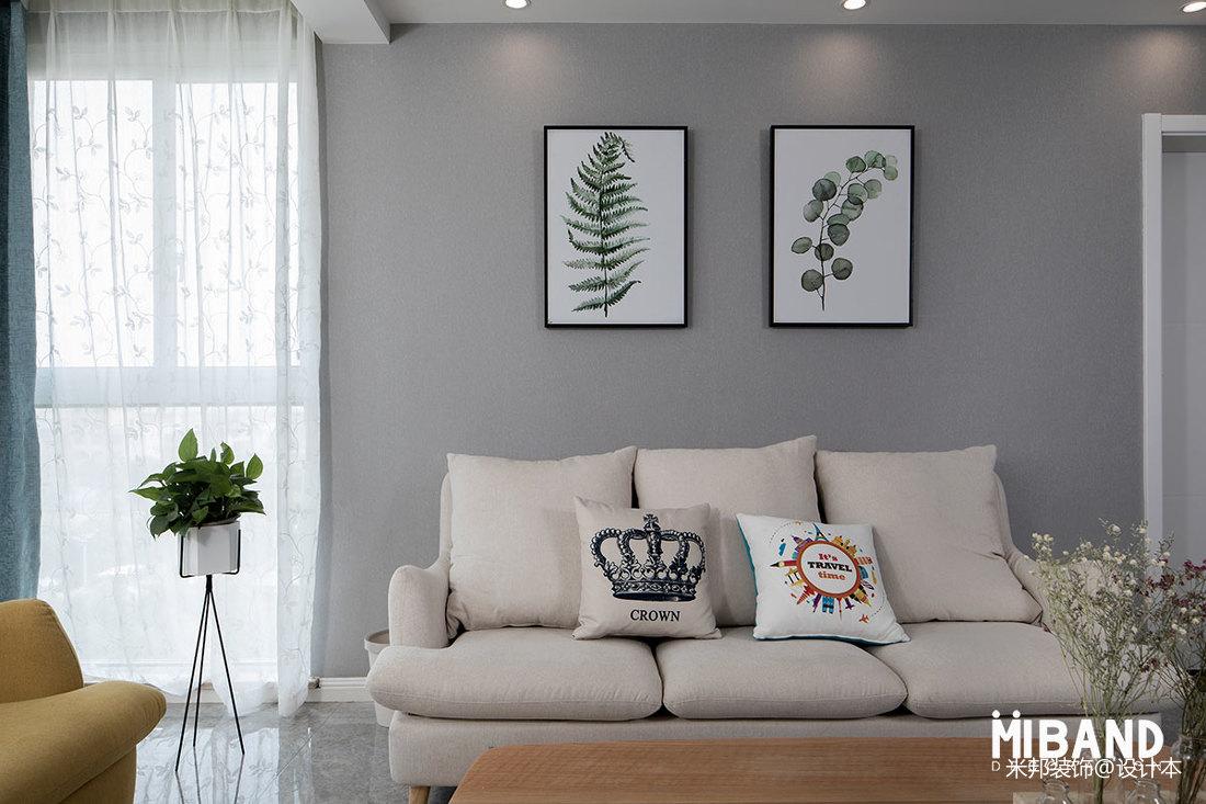 典雅107平混搭四居客厅装修美图客厅