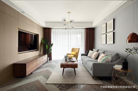201985平北欧二居客厅装修设计图