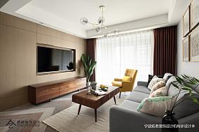 大气61平北欧二居客厅装修装饰图二居北欧极简家装装修案例效果图