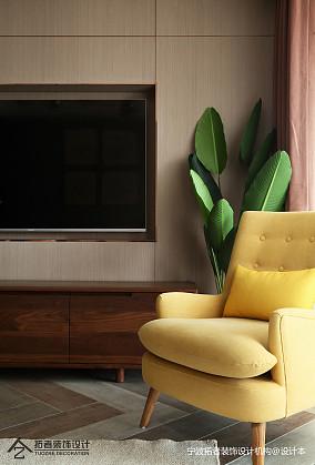 精美88平北欧二居客厅实景图二居北欧极简家装装修案例效果图