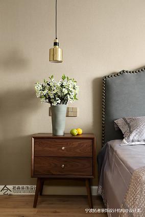 质朴82平北欧二居卧室效果图二居北欧极简家装装修案例效果图