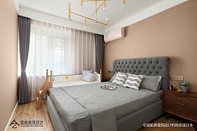 浪漫57平北欧二居卧室装修设计图二居北欧极简家装装修案例效果图