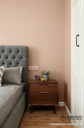 温馨54平北欧二居卧室效果图二居北欧极简家装装修案例效果图