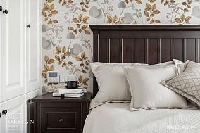 简洁132平美式四居卧室设计案例