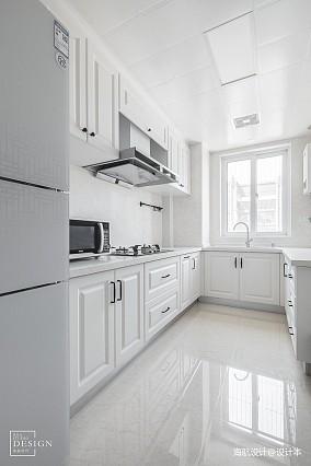 温馨146平美式四居厨房装饰美图