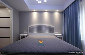 中海橙郡北欧宜家风卧室现代简约设计图片赏析